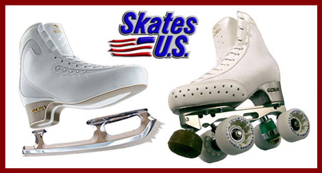 figure and roller skate packages